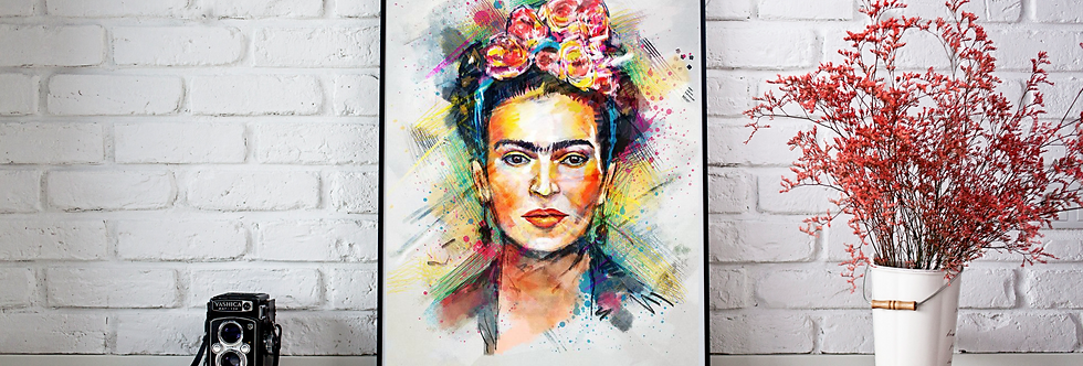 Quadro Frida Colors