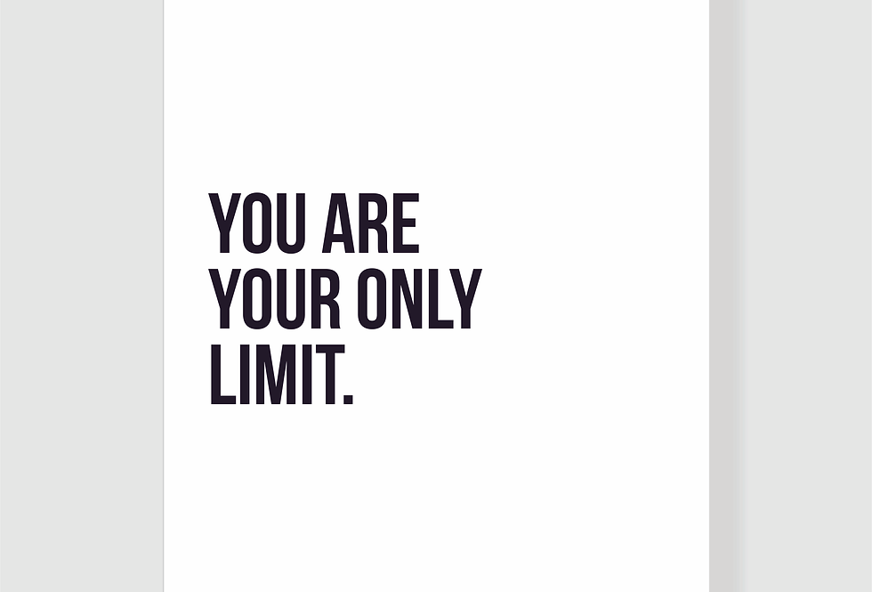 Quadro You Are Your Only Limit