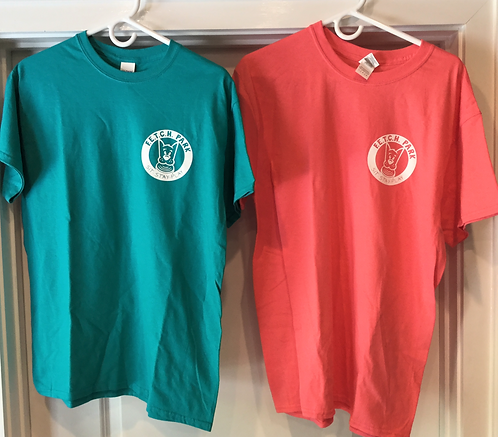 Colored, Short-sleeved 100% cotton t-shirt