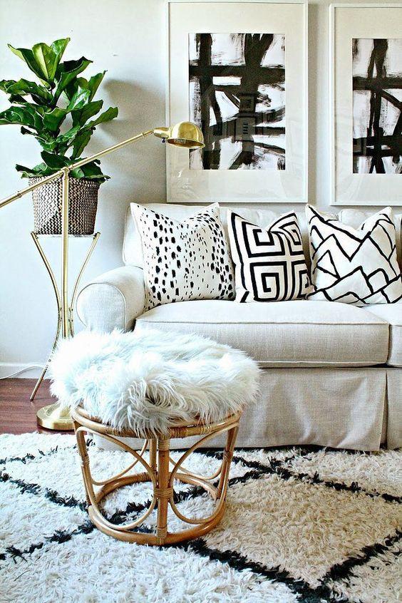 Textures in interiors