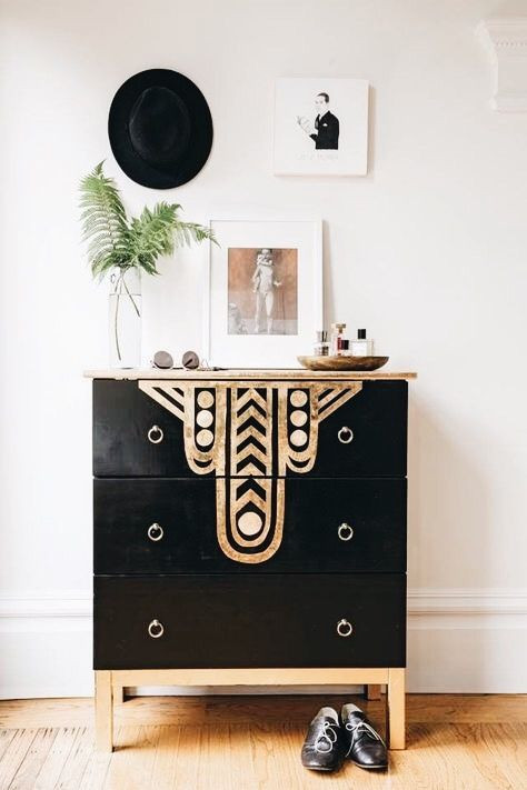 Statement chest of drawers