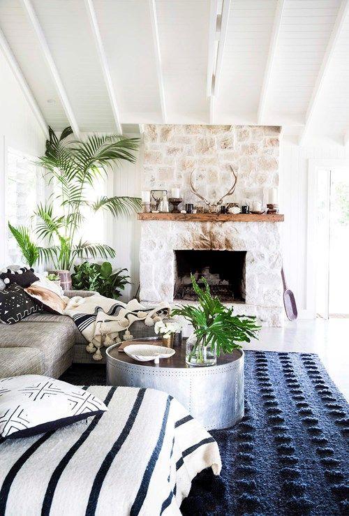 Indoor plants added to interiors
