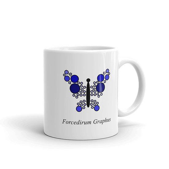 Datavizbutterfly - Forcedirum Graphus - Mug