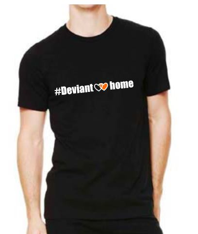 Deviant at home Tri bend T-shirt