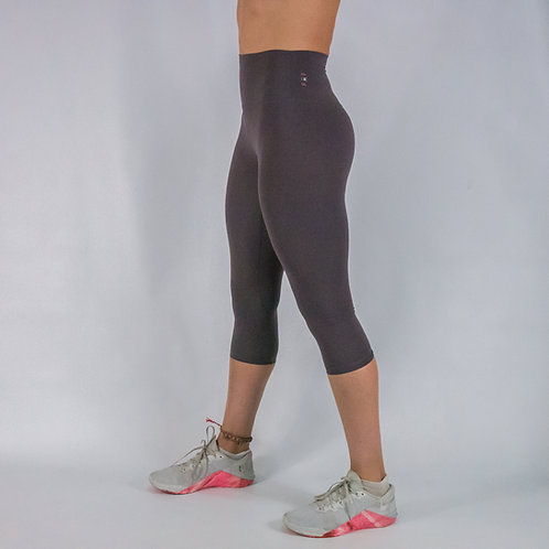 Capri Squat Proof Align Leggings - LIGHT PURPLE