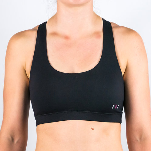 Butterfly Bra EXTREME - BLACK (Thick Strap)