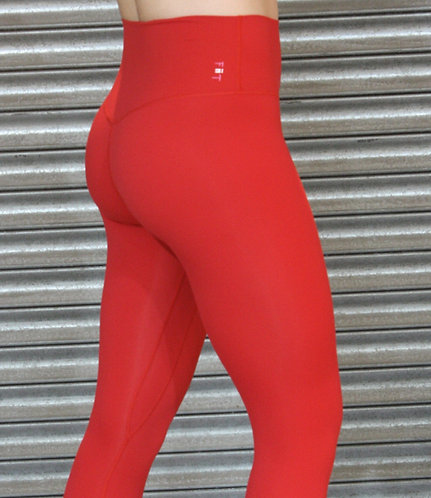 **New** Squat Proof Align Leggings (pre-order) FLAME RED