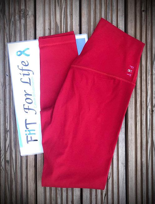 **New** Squat Proof Align Leggings (pre-order) FLAME RED