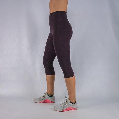 Capri Squat Proof Align Leggings -PURPLE