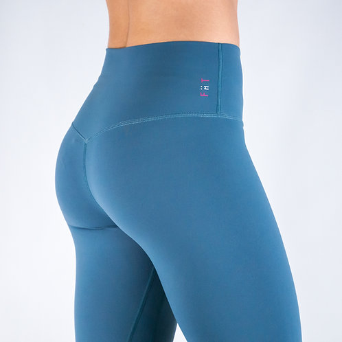 Squat Proof Align Leggings - SLATE BLUE