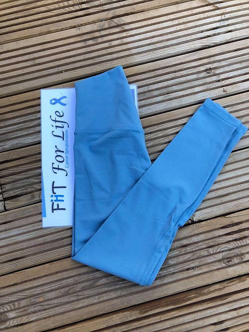 **New** Squat Proof Align Leggings BABY BLUE