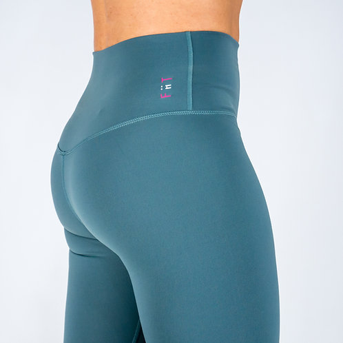 Squat Proof Align Leggings - GREEN