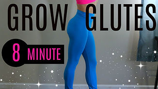 GlowBodyPT 21 Day 8 Minute Workout Challenge best free online workouts for women to lose fat and tone up