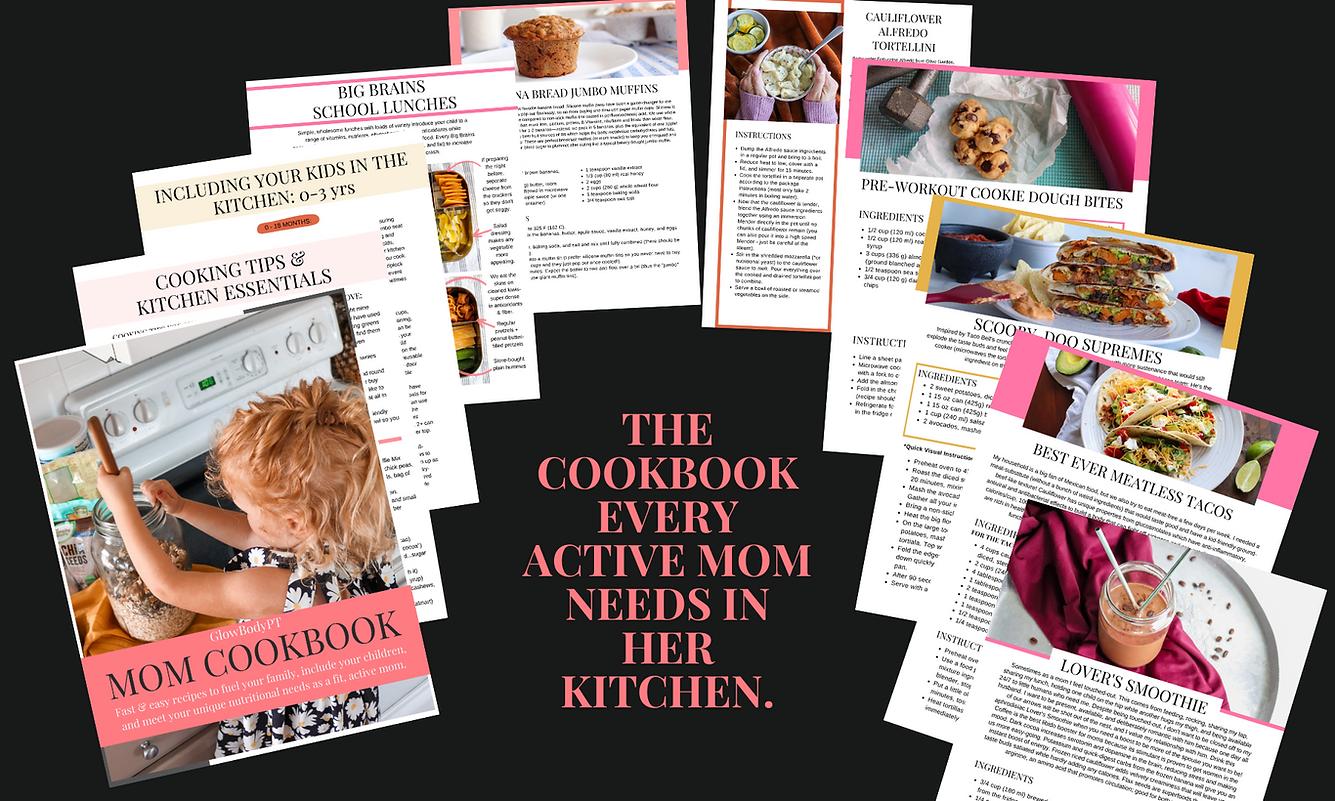 glowbodypt mom cookbook cook book reviews.png