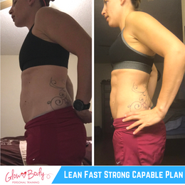 """Trimmed 3"""" off her waist + Lost 7lbs!"""