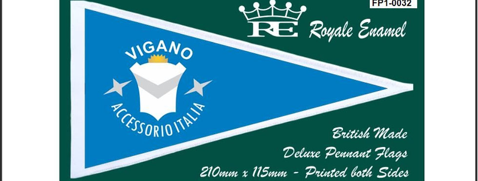 ROYALE PENNANT FLAG VIGANO ACCESSORIO ACCESSORIES FP1.0032