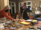 Making art therapy kits