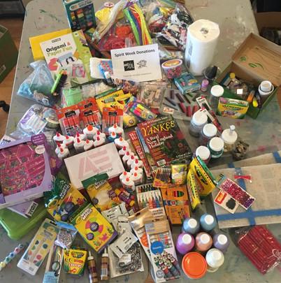 QCSD Neidig Elementary School Spirit Week donation