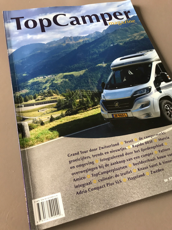 Publicatie in TopCamper magazine