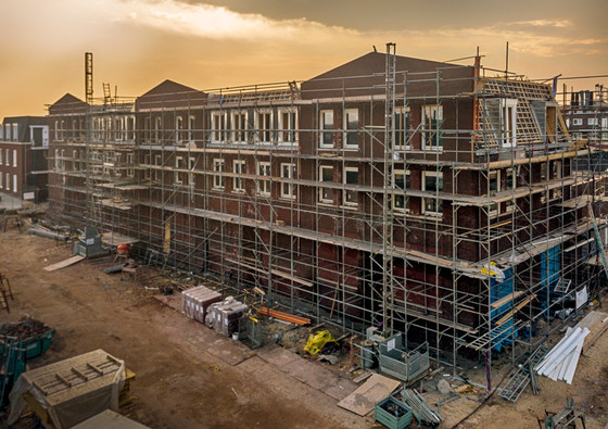 Bouwproject in beeld