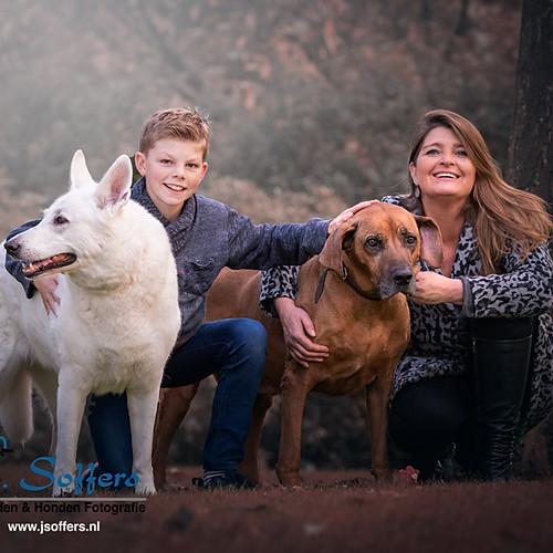 Fotoshoot Hond - Myca & Kaydo