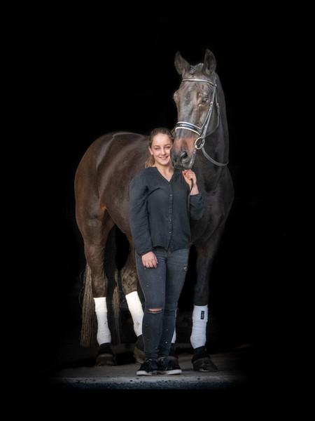 Fotoshoot paard blackfoto