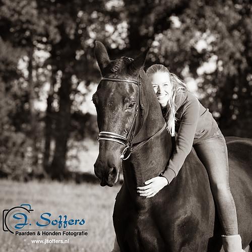 Fotoshoot Paard & Ruiter - Amber & Sambucca