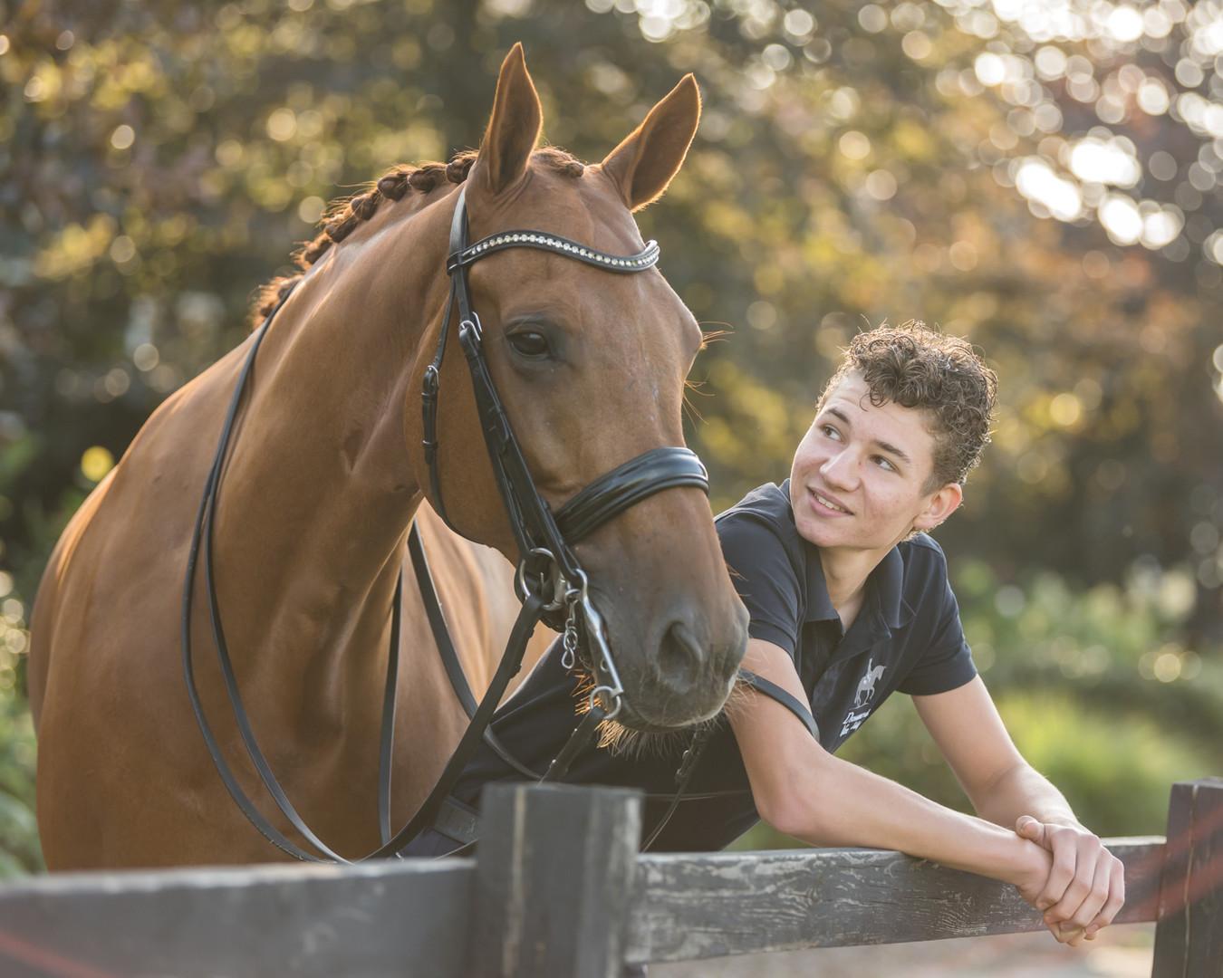 fotoshoot paard