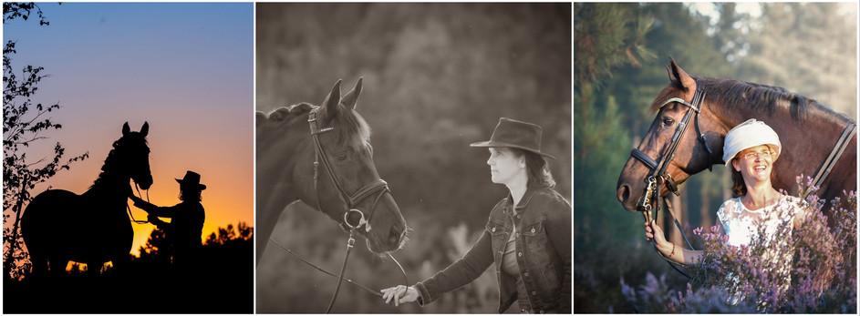 fotoshoot paard - kleding maakt het vers