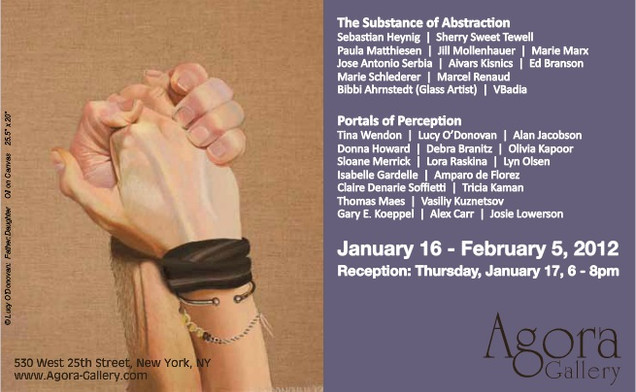 Advert for Portals of Perception, January 2012