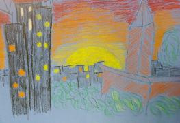 Teacher - 'Draw a view from a window'