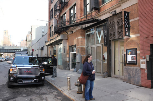 O'Donovan outside Gallery