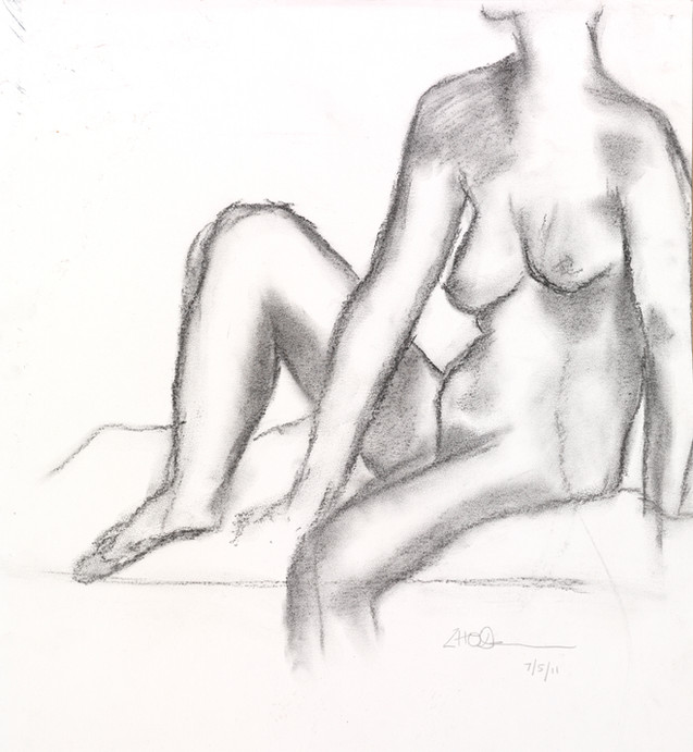 Life drawing, Hogan Gallery, Melbourne