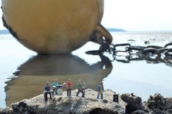 The Beach Buoys by Julia