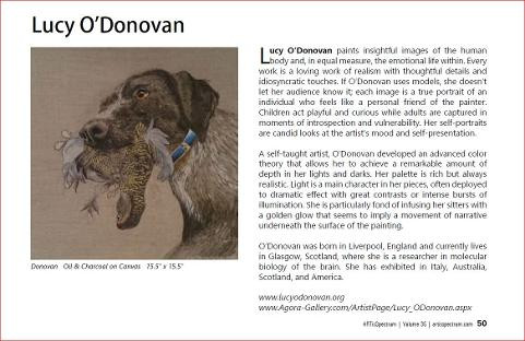 Review of Lucy O'Donovan