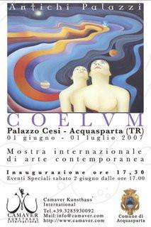 Flyer for Coelvm, June 2007