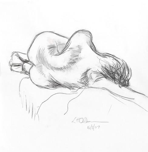 Life drawing, Hogan Gallery, Melbourne