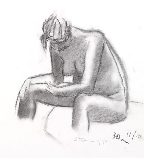 Life drawing, Glasgow School of Art