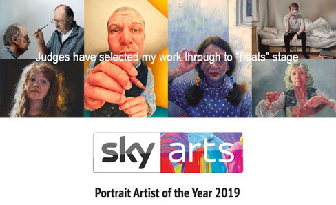 Sky Arts Portrait Artist of the year 2019