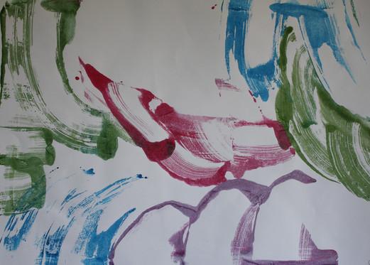 Paint paper printing