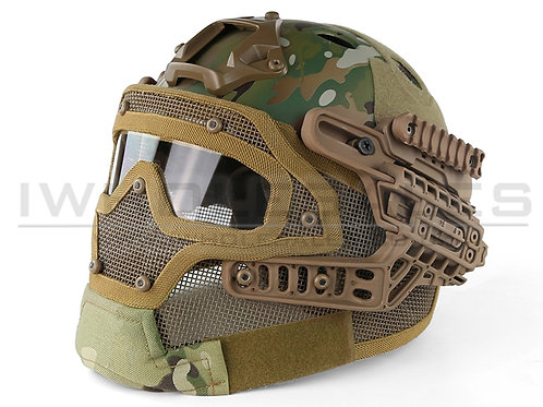 Big Foot Helmet System (Complete - High Version - PJ - Multicam)