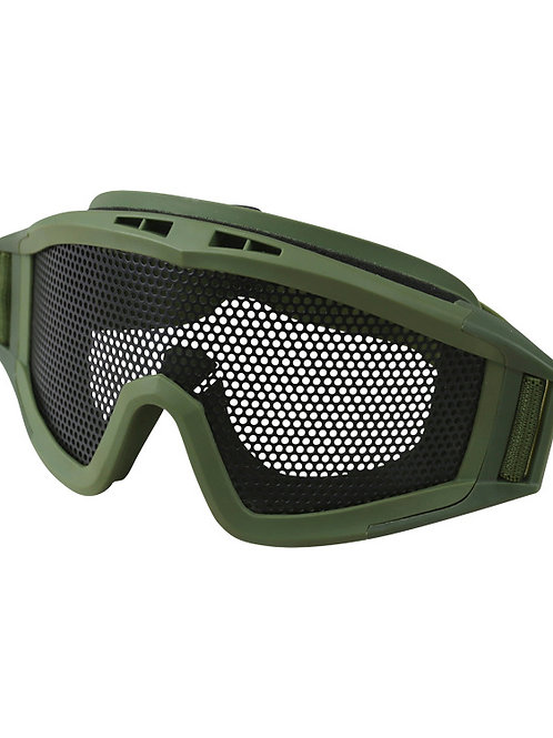 Operators Mesh Goggles - Olive Green