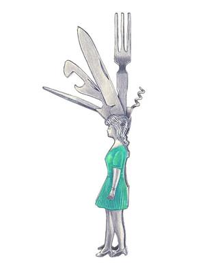 女の子型マルチツール