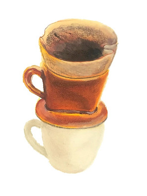 コーヒー(パステル)