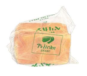 ペリカンのパン