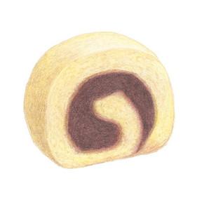 色えんぴつで塗る かわいい和菓子 / 淡交社 一六タルト