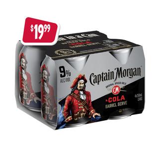 sa-p11-captain-morgan-9%-&-cola-4x250ml-
