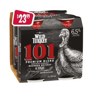 sa-p11-wild-turkey-101-&-cola-4x375ml-ve