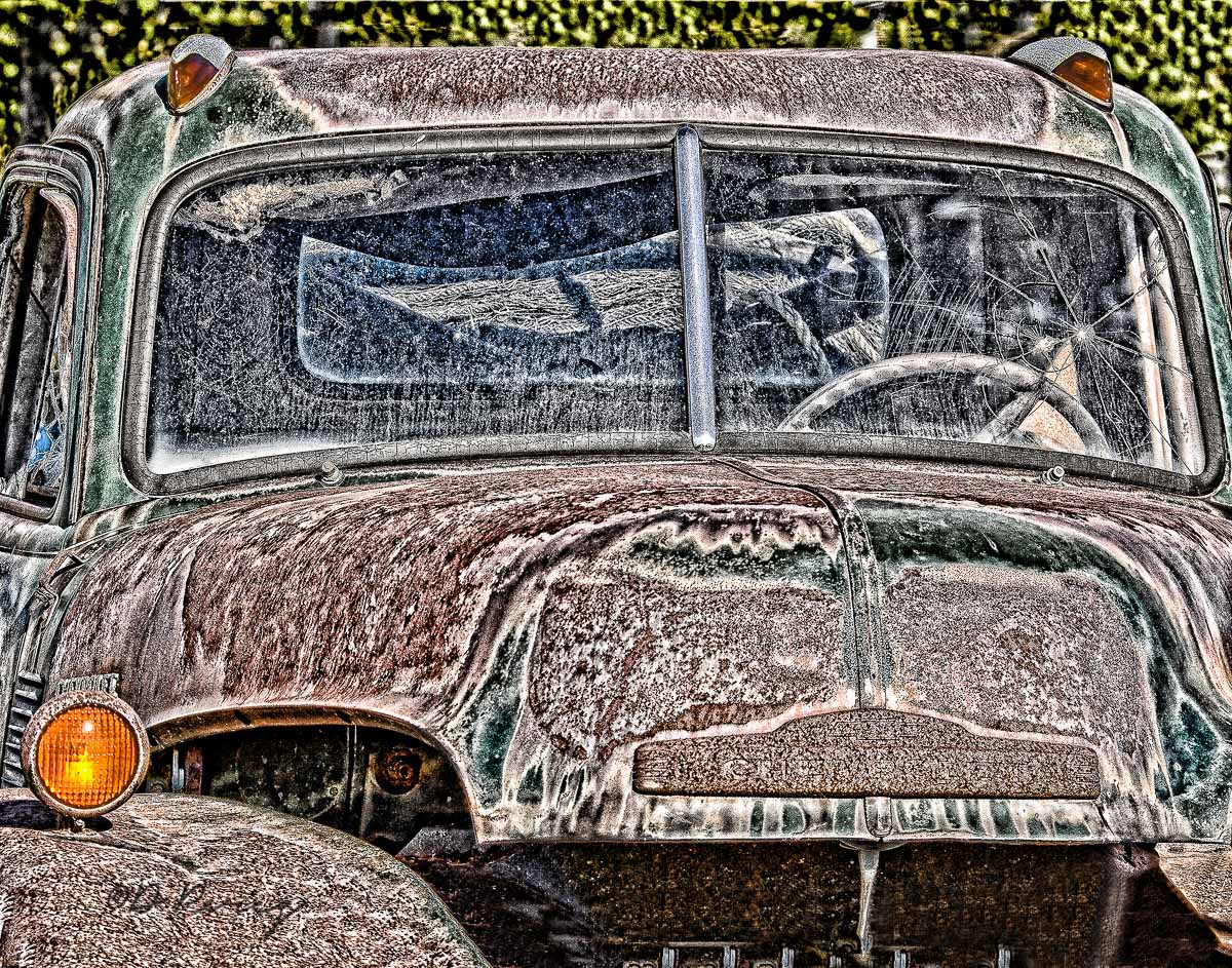 7590_old_truck abstract