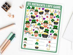 St. Patrick's Day I Spy Game